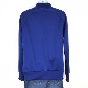 Nike Jackets & Coats - NIKE Blue Long Sleeve Zip Up Jacket Large